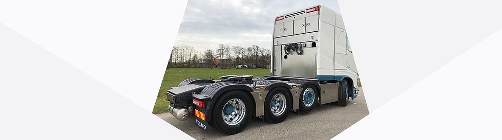 Accubak vrachtwagen