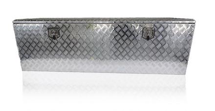 Gereedschapskist Aluminium traanplaat