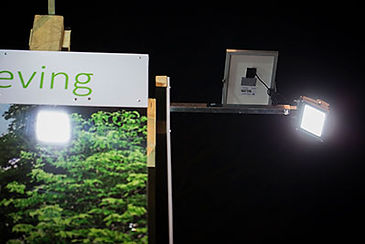 Solar Spotlight Extension bar