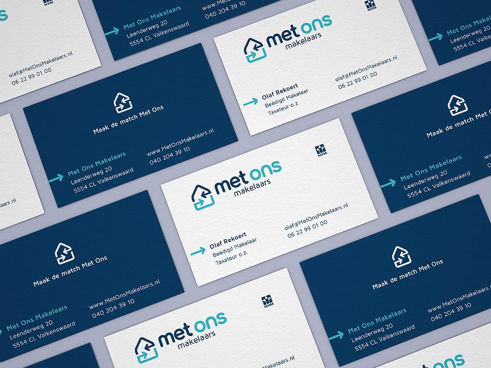 Free Branding Business Card Mockup PSD V