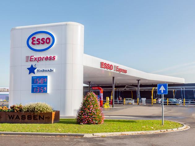 Esso tankstation