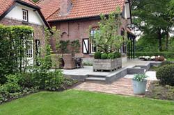 Authentieke tuin rondom apostelhuis