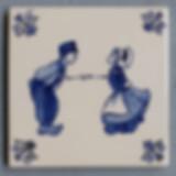 Delfts blauwe tegel