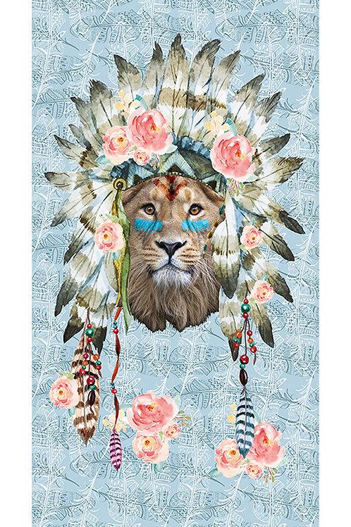 Beachtowel Lion