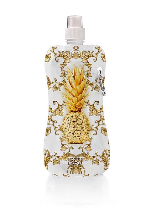 Waterflesje Gold Pineapple
