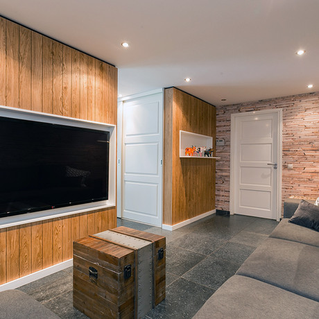 Inrichting gaming room
