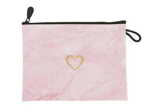 Clutch Pink Marble