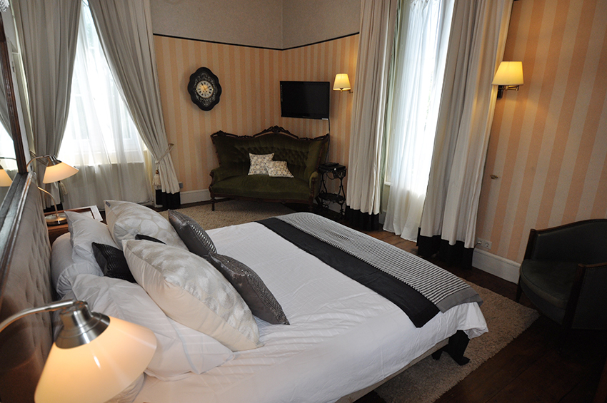 Bed & Breakfast in een kasteel