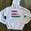Thumbnail: Pinkies, Pearls, & Presidency Fleece Hooded Sweatshirt