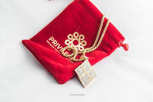 KAP Diamond Pendent (Gold)