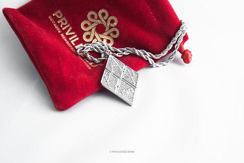 KAP Diamond Pendent (Silver)