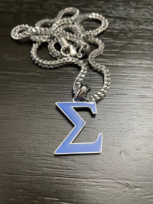 PBS Sigma Royal Blue Pendant (Silver)