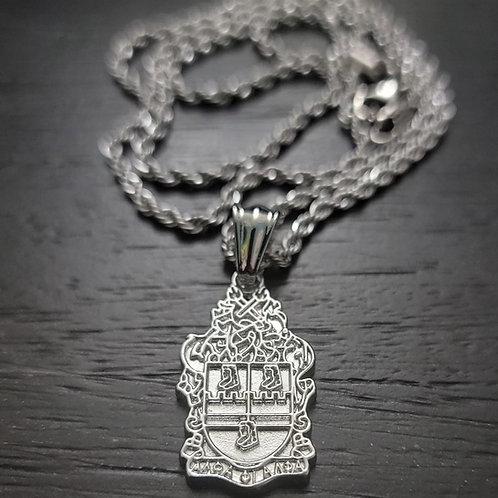 APA Shield Pendant (Silver)