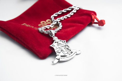 KAP Coat of Arms Pendent (Silver)