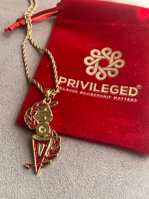 DST Torch of Wisdom Pendant (Gold)