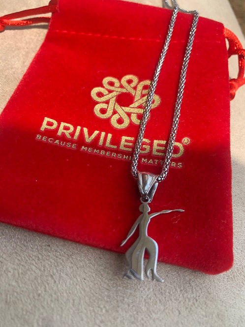 DST Fortitude Pendant (Silver)