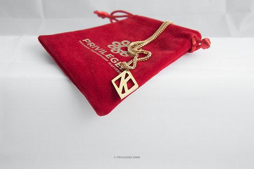 KAP Floating K Pendent (Gold)