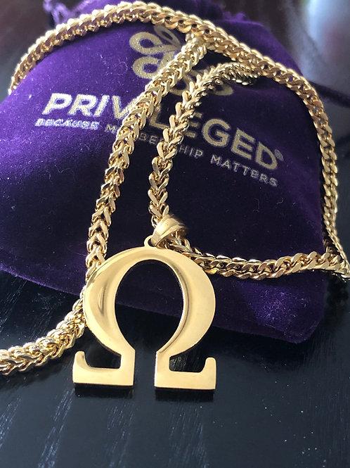 OPP Omega Pendant (Gold)