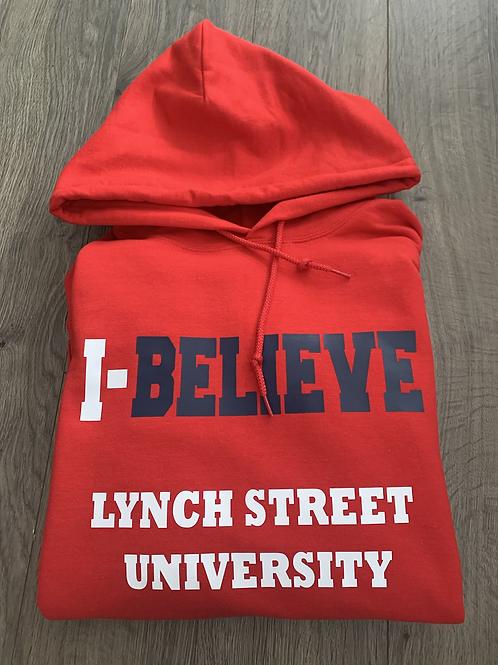I-Believe Hooded Sweatshirt (Red)