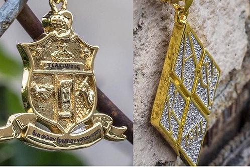 KAP Diamond & Coat of Arms Pendent Combination