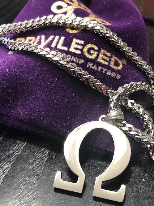OPP Omega Pendant (Silver)