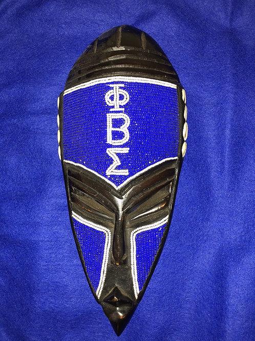 Phi Beta Sigma African Mask