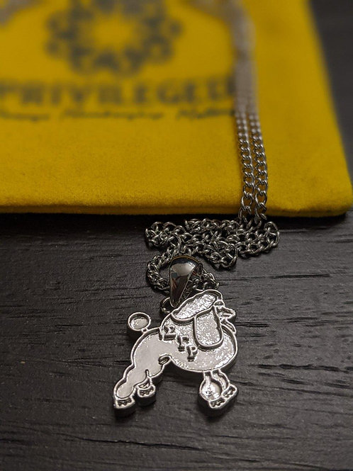SGR Sigma Gamma Rho Poodle (Silver)