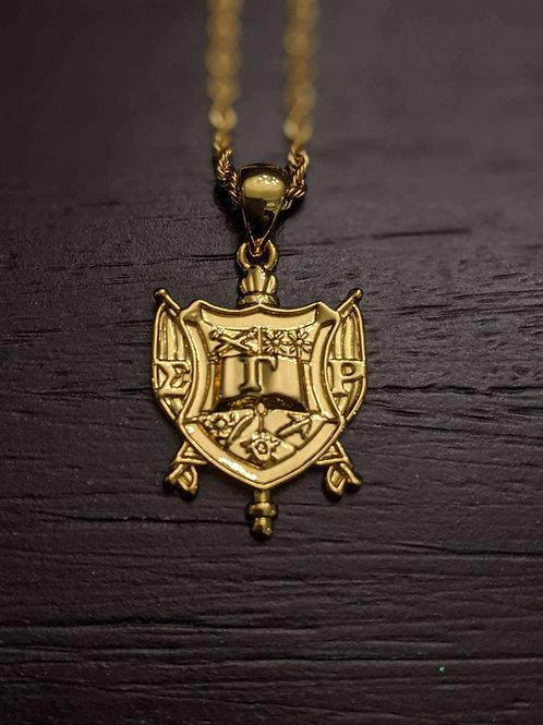 SGR Sigma Gamma Rho Shield (Gold)