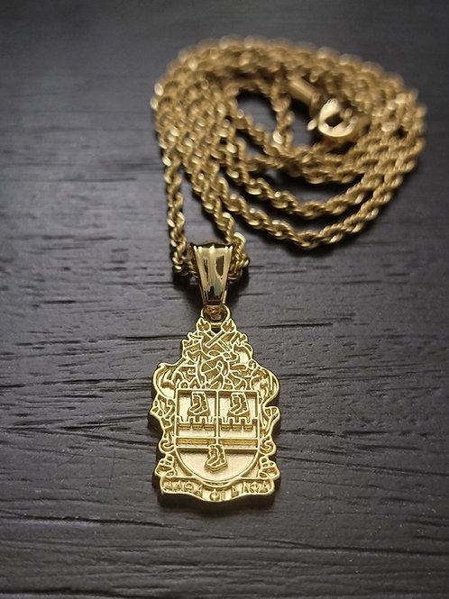 APA Shield Pendant (Gold)