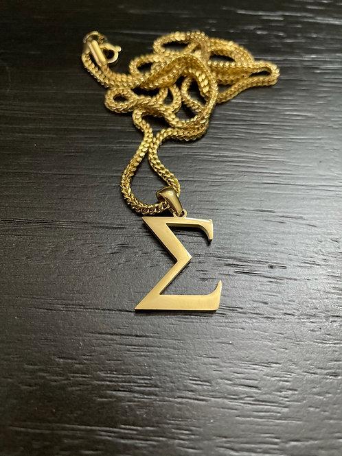 PBS Sigma Mini Pendant (Gold)