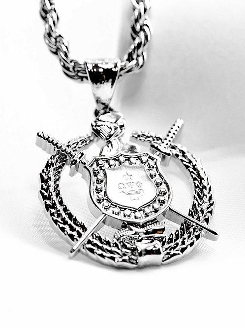 OPP Escutcheon Pendant (Silver)