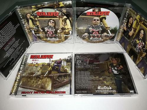 METALUCIFER Heavy Metal Bulldozer Double CD