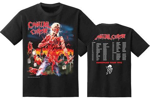 CANNIBAL CORPSE - European tour 1992