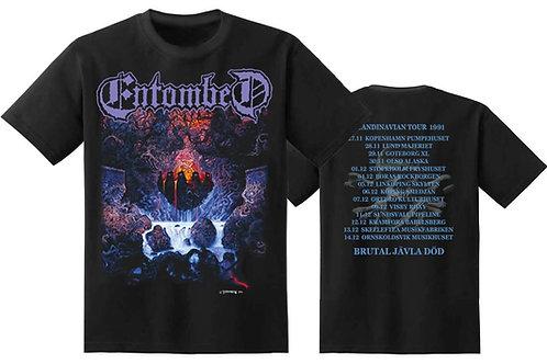 Entombed - tour 91