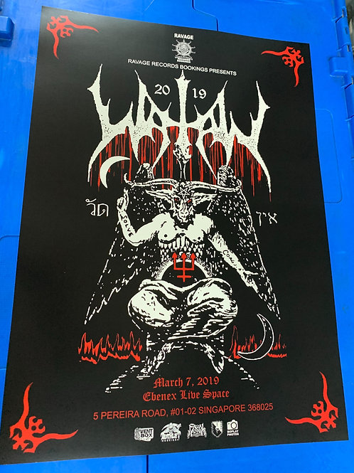 WATAIN-Live in Singapore poster