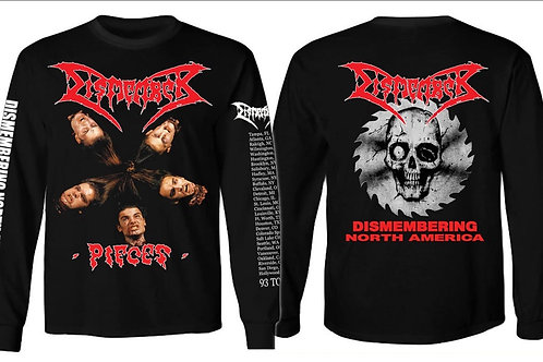 DISMEMBER -North America tour 93