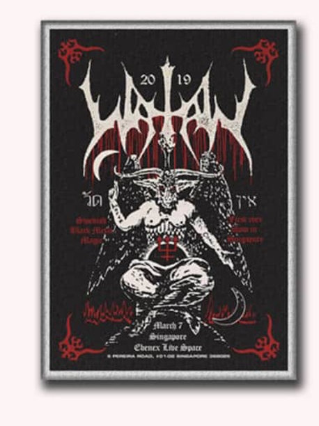 WATAIN- Live in Singapore