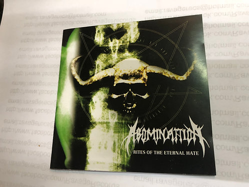 ABOMINATTION-Rites of the eternal hate