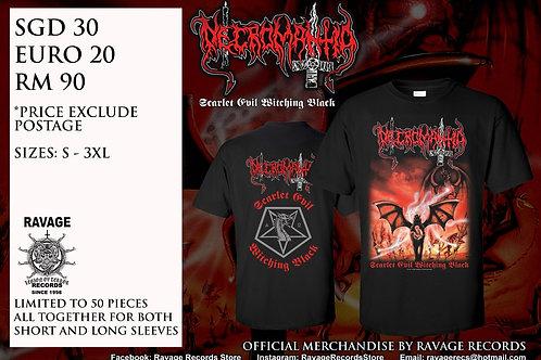 NECROMANTIA - Scarlet Evil Witching Black
