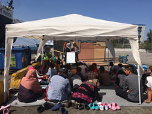 refugiados segundi viaje abril mayo 2016