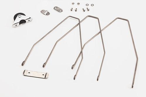 Brompton RR Mudgard Stay + Fit +Roll Steel