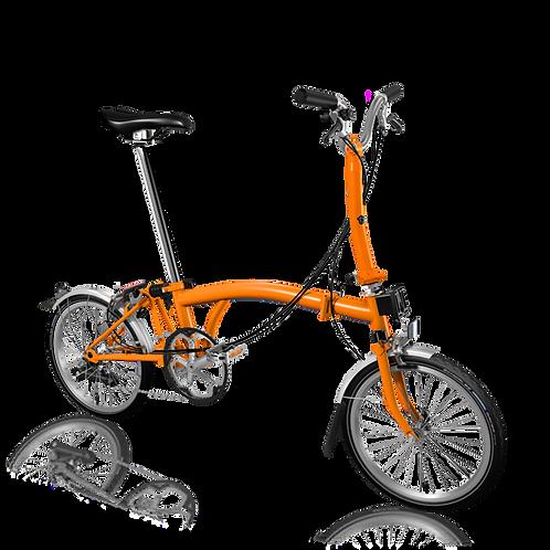 Brompton M6L Orange