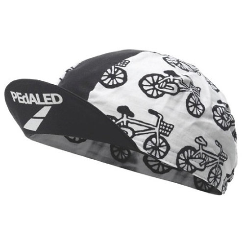 Pedaled Bicycle Cap Black