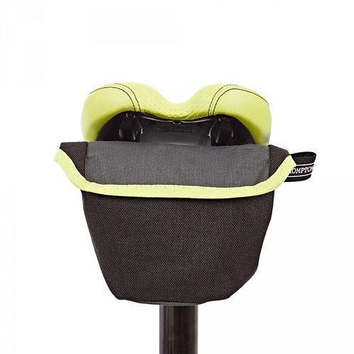 Brompton Saddle Pouch Bag Grey/Lime Green