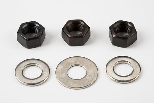 Replacement rear wheel axle fittings - 1 / 2-spd