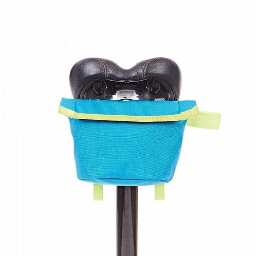 Brompton Saddle Pouch Bag Lagoon Blue/Lime Green