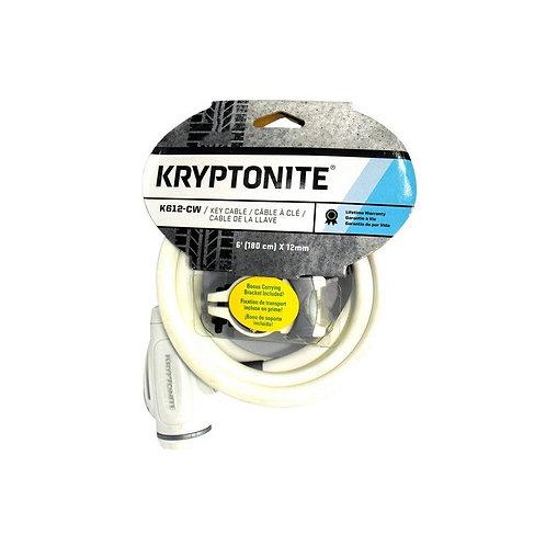 Kryptonite K612-CW Blanco Llave