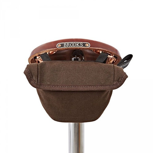 Brompton Saddle Pouch Bag Waxed Canvas