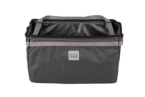 Brompton Borough Basket Bag in Dark Grey