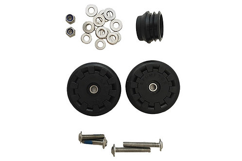 Brompton Eazy Wheel Rollers Kit - 6mm holes